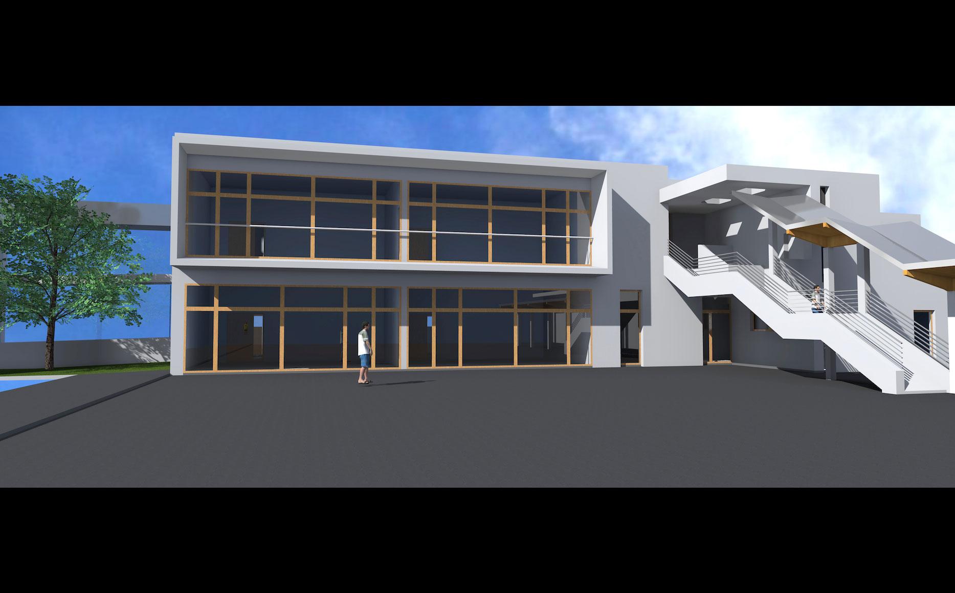 groupe scolaire simone signoret atp architecte tornier philippe cabinet d 39 architecte lyon. Black Bedroom Furniture Sets. Home Design Ideas